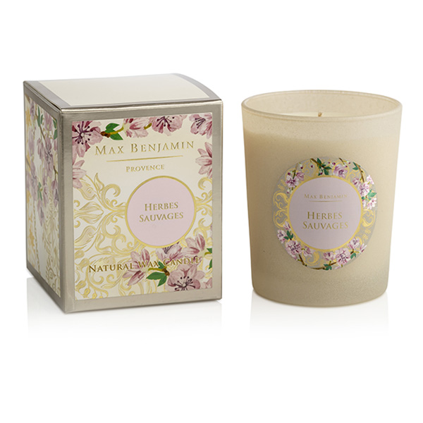 Max Benjamin-Provence-Herbes Sauvages…Candle + Box